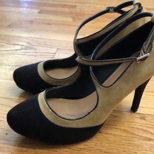 JustFab strappy heels